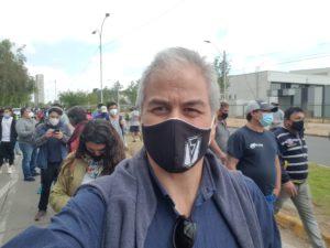 Mario Aguilar: ¡Ya votamos!