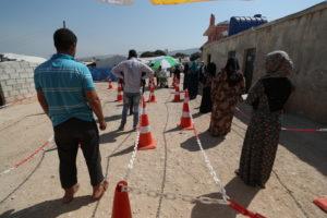 MSF, Siria nord-occidentale: Casi di Covid decuplicati in un mese
