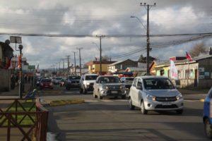 Chile: Marcha x el Apruebo en Puerto Saavedra, Región del WallMapu