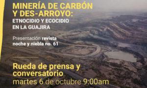 Vientos mineros arrasan con La Guajira