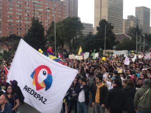 Colombia: le piattaforme per la pace e i diritti umani sostengono il pellegrinaggio di ex combattenti delle FARC a Bogotá
