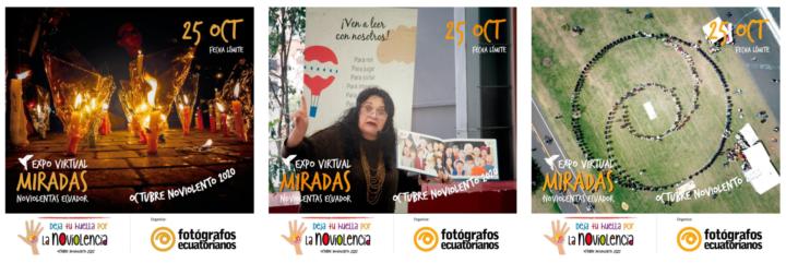 Afiches expo virtual