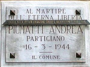 Andrea Piumatti: sfregiata la sua memoria