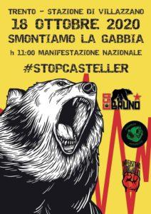 Manifestazione nazionale Stop Casteller per dire NO al lager degli orsi