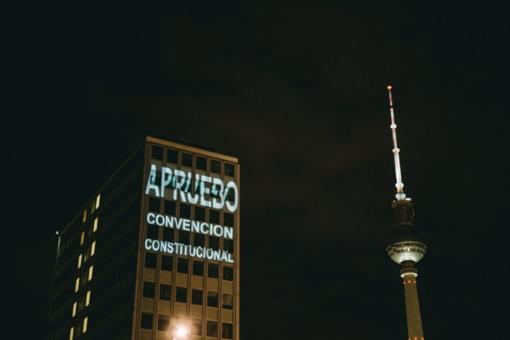 Berlín, Proyecciones en el Marco del Festival «Chilean Conexion» 18 Octubre «El Despertar de Chile»
