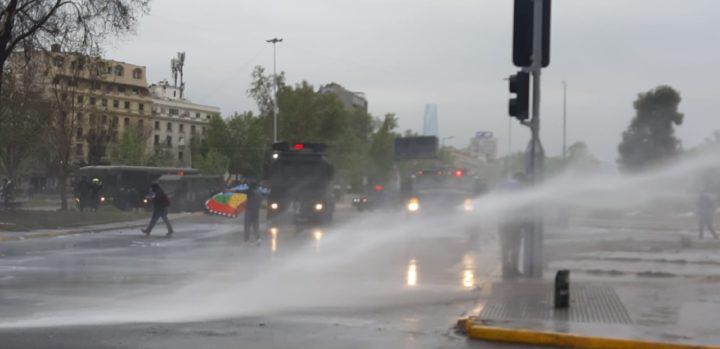 CCHDH se querella contra Piñera, Ministro del Interior y Director General de Carabineros