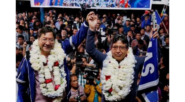 Élection présidentielle au Bolivie : Arce et Choquehuanca élus au premier tour