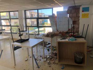 Terremoto a Samos: ingenti danni alla scuola Mazì di Still I Rise