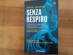 """A Varese la presentazione virtuale di """"Senza Respiro"""" libro inchiesta di Vittorio Agnoletto"""