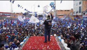 Sin Evo y con un pueblo en resistencia, el MAS vuelve al poder de la mano de Lucho Arce