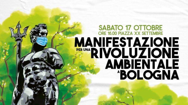 Manifestazione per una rivoluzione ambientale a Bologna