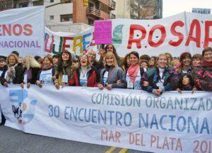"""""""Nos levantamos para ser la voz de la resistencia justa noviolenta"""""""