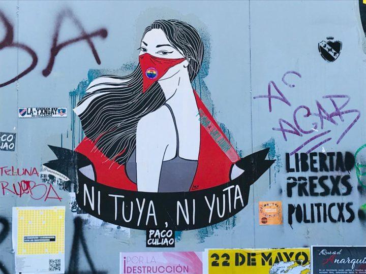 Cile: Foto-reportage da Plaza Dignidad