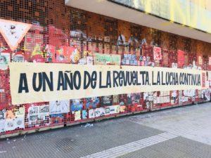 Chile: Ein Jahr Kämpfen um die Würde