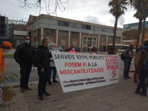 De la Llei Aragonés a Ferrovial: la Plataforma en Defensa dels Serveis Públics en lluita