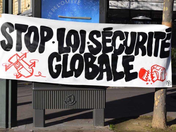 Manifestation contre la loi «Sécurité globale»