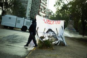 Libertad a las y los presos políticos: nueva jornada de protesta chilena en Plaza Dignidad