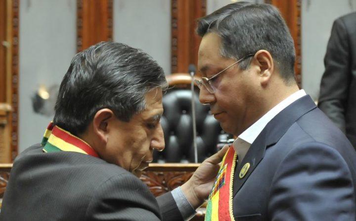 Neuer Präsident in Bolivien: Luis Arce spricht sich für Wiederaufbau und Frieden aus