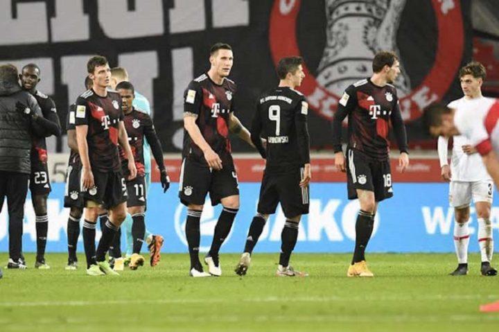 Bayern sigue firme en la cima de Liga alemana
