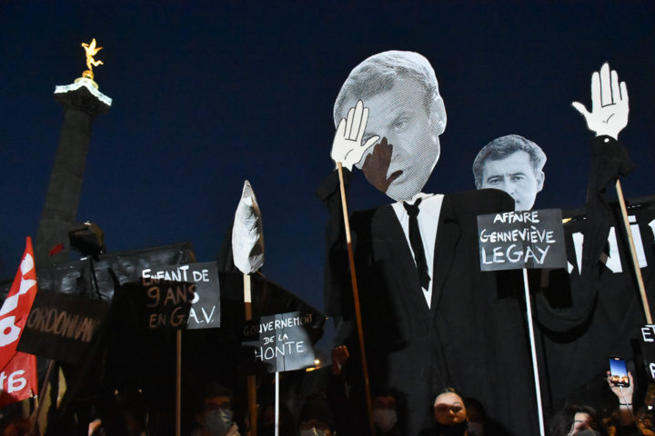 Manifestation contre la proposition de loi « sécurité globale »