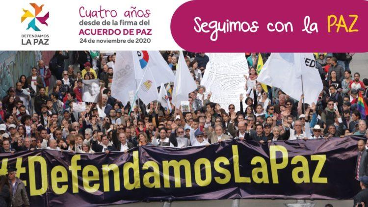 Defendamos La Paz al Consejo de Seguridad de la ONU en el cuarto aniversario de la firma del Acuerdo Final de Paz. En ella se solicita que el Consejo pida al Gobierno de Colombia mayor compromiso con la implementación.