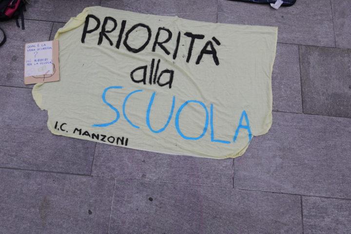 Protesta studenti contro Cirio 30-11-2020 3
