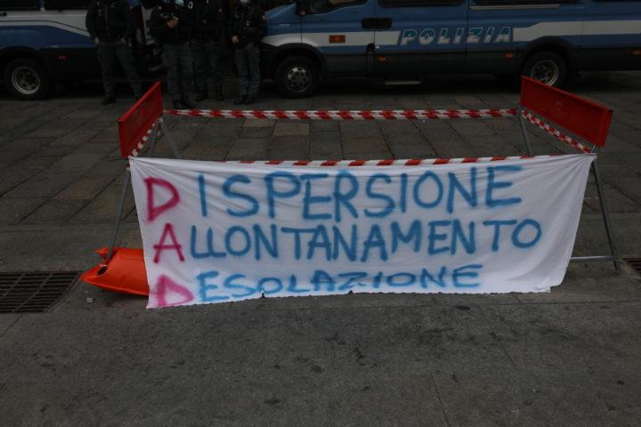 Protesta studenti contro Cirio 30-11-2020 4