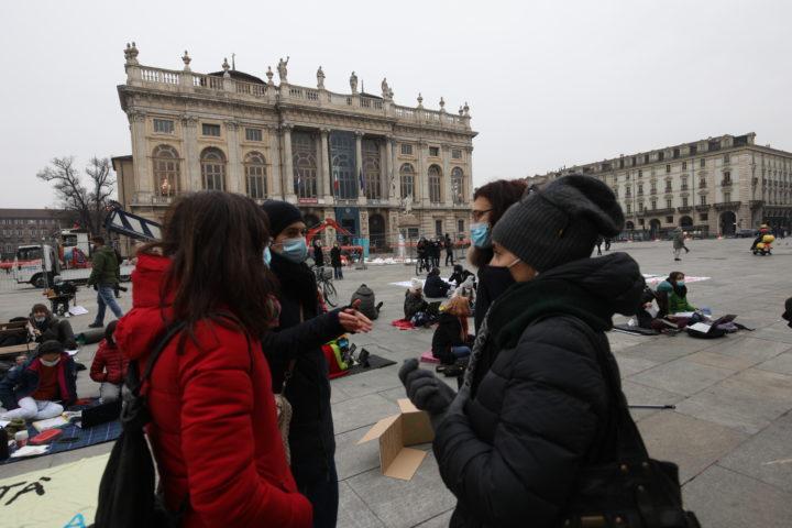 Protesta studenti contro Cirio 30-11-2020 14