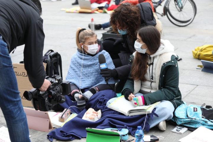 Protesta studenti contro Cirio 30-11-2020 12