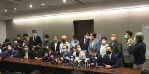 Hong Kong: la Cina mette a tacere l'opposizione democratica
