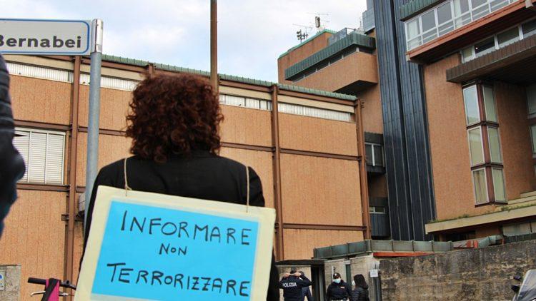 Presidio cittadino Firenze, Informare, non terrorizzare