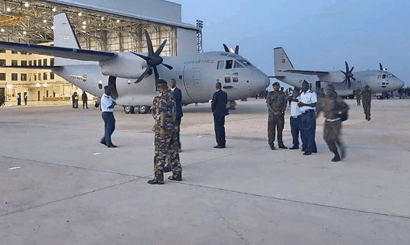Leonardo consegna l'ultimo aereo per truppe d'assalto al Kenia