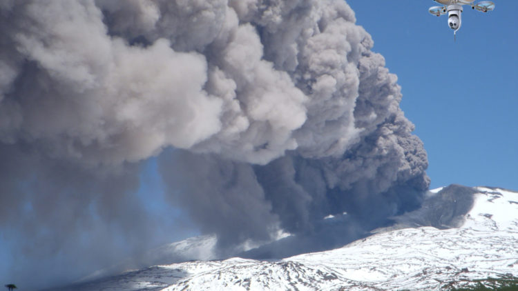 Drones using new technology to predict volcanic eruptions