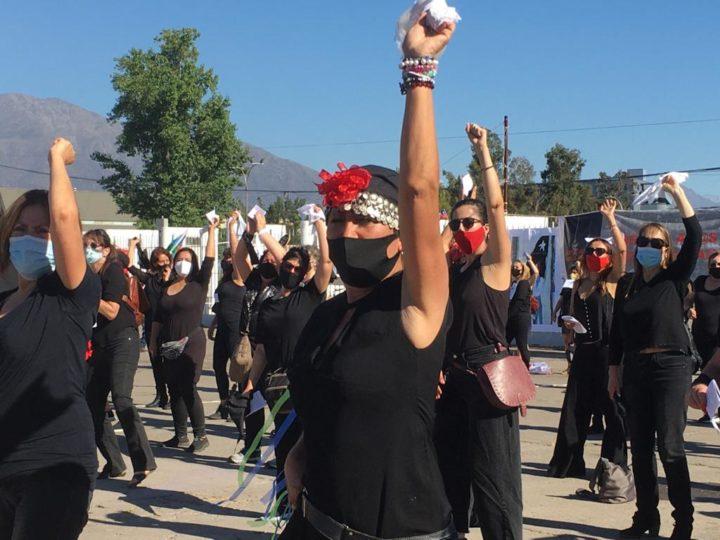 Chile: performance por la libertad