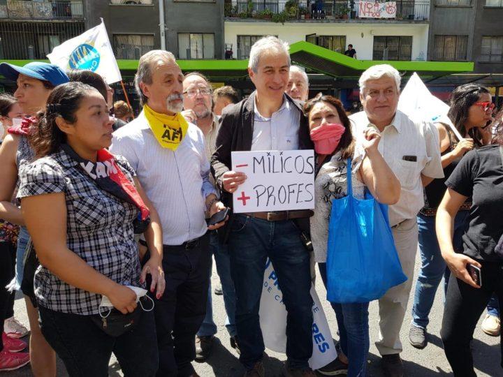 Rendición de cuenta del presidente nacional del Colegio de Profesores de Chile