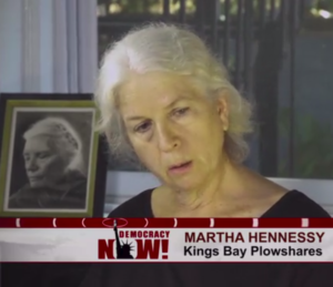 Martha Hennessy, Kings Bay Plowshares Anti-Nuclear Weapons Activist Sentenced