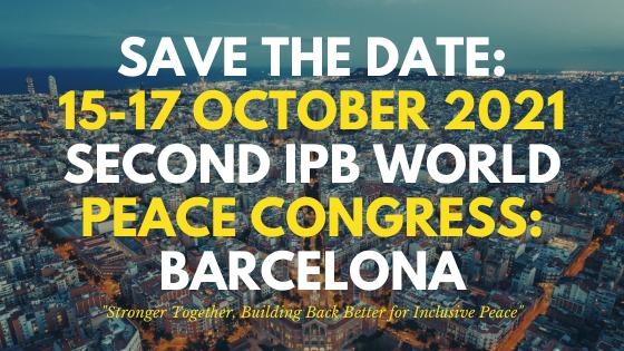 Βαρκελώνη – Οκτώβριος 2021: Προγραμματίζεται το 2ο Διεθνές Συνέδριο Ειρήνης