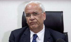 Lutto di tre giorni in Palestina per la morte di Saeb Erekat
