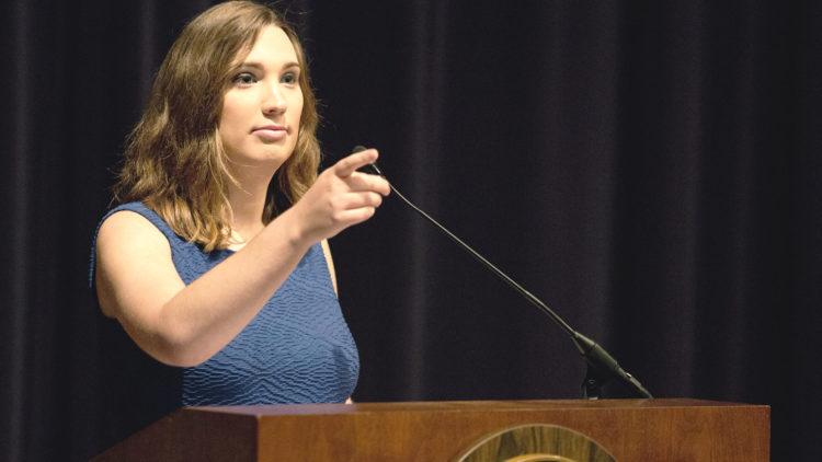 LGBTQ activist Sarah McBride becomes first transgender Senator in the USA