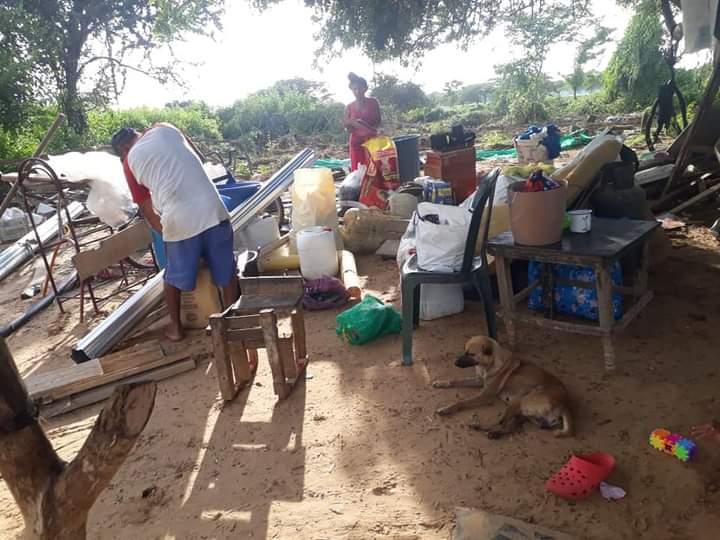 Desalojo indígenas Wayuu