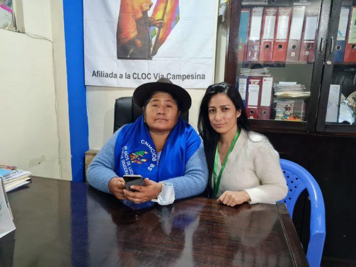 Entrevista a dirigente de la Bartolina Sisa, Segundina Flores, la principal lideresa indígena de Bolivia