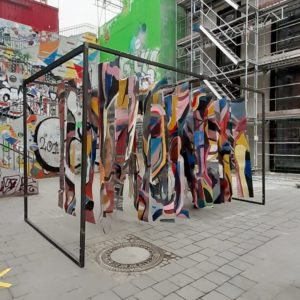 Instalación «Transitory Bonds» en Berlín de Paula Valenzuela Antúnez