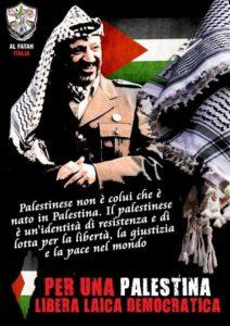 Anniversario della morte del presidente Arafat