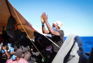 Appello dei giovani tunisini della nave quarantena Allegra al Presidente Kais Saied