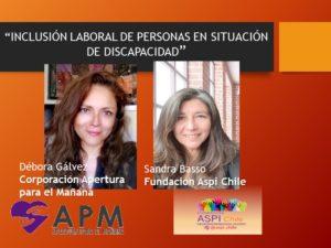 Chile: Inclusión laboral de personas en situación de discapacidad