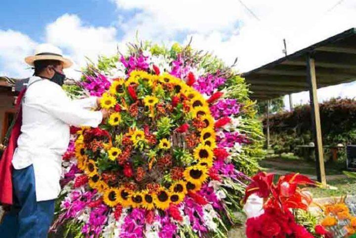 Feria de las Flores en Colombia se verá desde casa