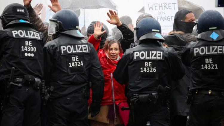 Berlin demonstrations