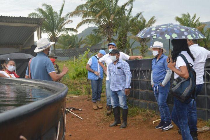 Intercambio de excombatientes de FARC en Colombia