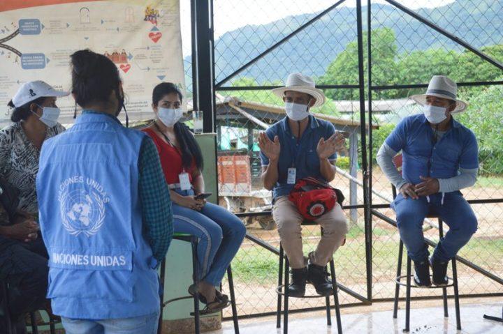 Experiencia de intercambio de excombatientes de FARC en Colombia