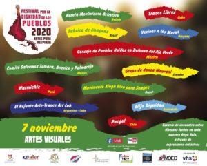 Festival por la Dignidad de los Pueblos: Artes para Respirar 2020